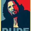 The Dude Abides by Christian Broadbent