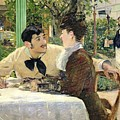 The Garden Of Pere Lathuille by Edouard Manet