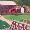 The Gristmill At Wayside Inn by William Demboski