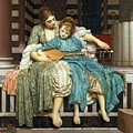 The Music Lesson by Frederic Leighton