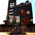 The Phillies - Steve Carlton by Bill Cannon