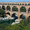 The Pont Du Gard by Sami Sarkis