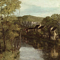 The Reflection Of Ornans by Gustave Courbet