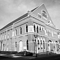The Ryman Auditorium Former Home Of The Grand Ole Opry And Gospel Union Tabernacle Nashville by Joe Fox