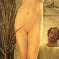 The Sculptor's Model by Sir Lawrence Alma-Tadema