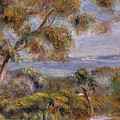 The Sea At Cagnes by Pierre Auguste Renoir