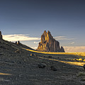 This Is New Mexico No. 2 - Shiprock World Wonder by Paul W Sharpe Aka Wizard of Wonders