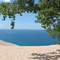 Top Of The Dune At Sleeping Bear by Michelle Calkins