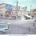 Trade And Tryon Street 1900 by Charles Roy Smith
