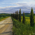 Tuscany Road by Jay Johnson