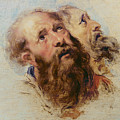 Two Apostles by Rubens
