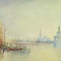 Venice - The Mouth Of The Grand Canal by Joseph Mallord William Turner