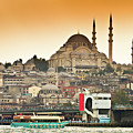 View Of Istanbul by (C) Thanachai Wachiraworakam