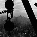 View Of Lower Manhattan From The Empire State Building by LW Hine