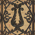 Vintage Iron Scroll Gate 2 by Debbie DeWitt
