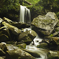 Waterfall In The Spring by Andrew Soundarajan