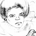 Young Micheal Jackson  by HPrince De Artist