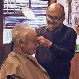 Barber Shops and Hair Saloons Paint Art Contest