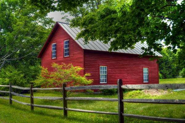 New England - Red Barns - Photography