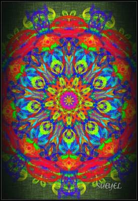 Spiritual expression with Mandalas
