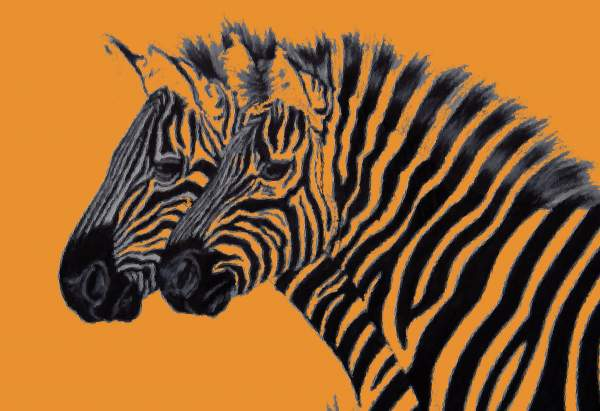 Zebras Paintings Your best Paintings of Zebra