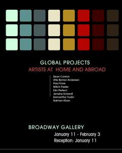 Global Projects Artists at home and abroad