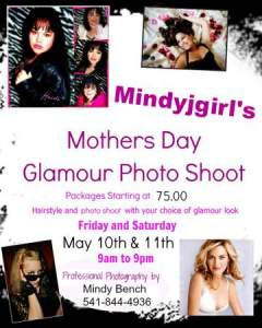 Glamour Photo Shoot For Mothers Day