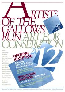 Artists of the Gallows Run - Art for Conservation