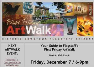 Angie Bray-Widner Art showing at HOID December ArtWalk