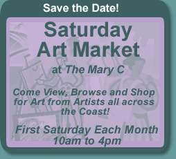 Saturday Art market  Ocean Springs Mississippi