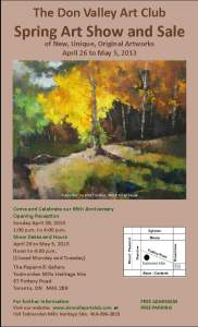 Don Valley Art Club Spring Art Show and Sale