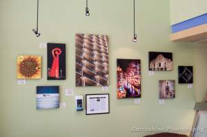 Photography on Canvas at Brindles in San Antonio