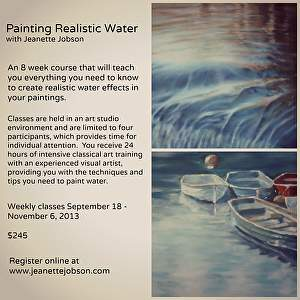 Painting Realistic Water