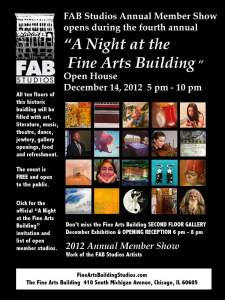 Fine Arts Building Studios Annual Members Show
