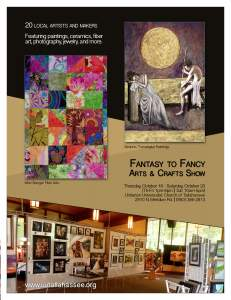 Fantasy to Fine Arts and Crafts Show at UUCT