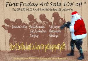First Friday Art Sale
