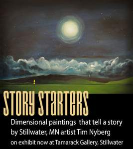 Story Starters Paintings by Tim Nyberg