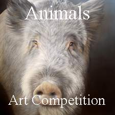 Call for Art Theme Animals Online Art Competition