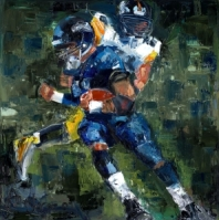 Rugby and Superbowl Paintings Gallery. - Fine Artist