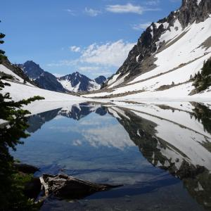 Reflections Of The Sawtooths