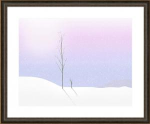 Artist Releases New Work - Winter Pastel