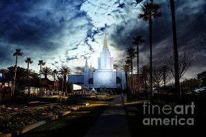 Oakland California Temple . The Church Of Jesus Christ Of Latter-Day Saints . By Wingsdomain.com