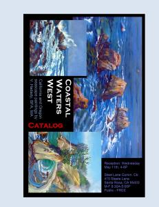 Solo Show Catalog - Coastal Waters West