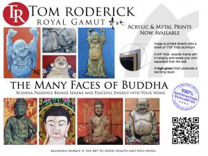 The Many Faces Of Buddha By Tom Roderick