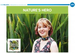 Nelson Nature Conservation Hero