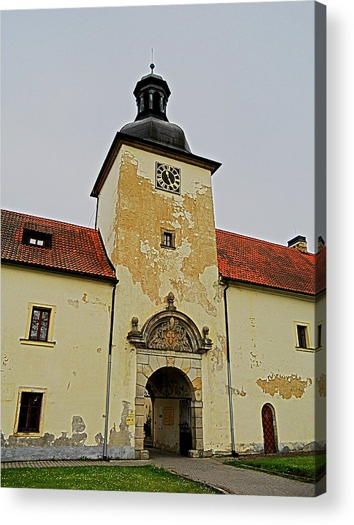 Europe Acrylic Print featuring the photograph Half Past Eleven ... by Juergen Weiss