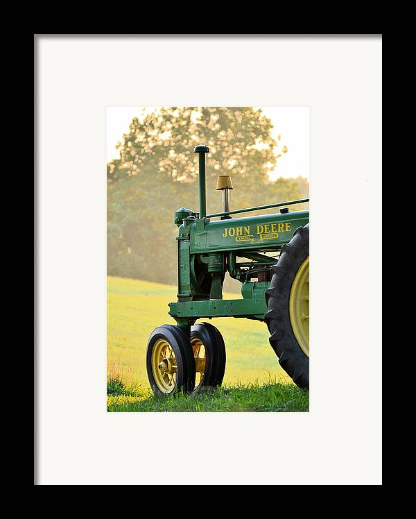 John Deere Framed Print featuring the photograph Resting by JD Grimes