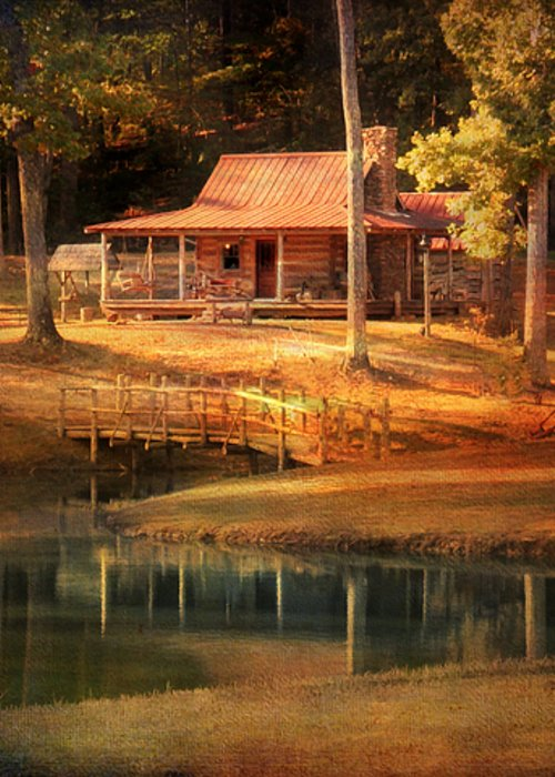 Beautiful Greeting Card featuring the photograph A Place To Dream by Jai Johnson