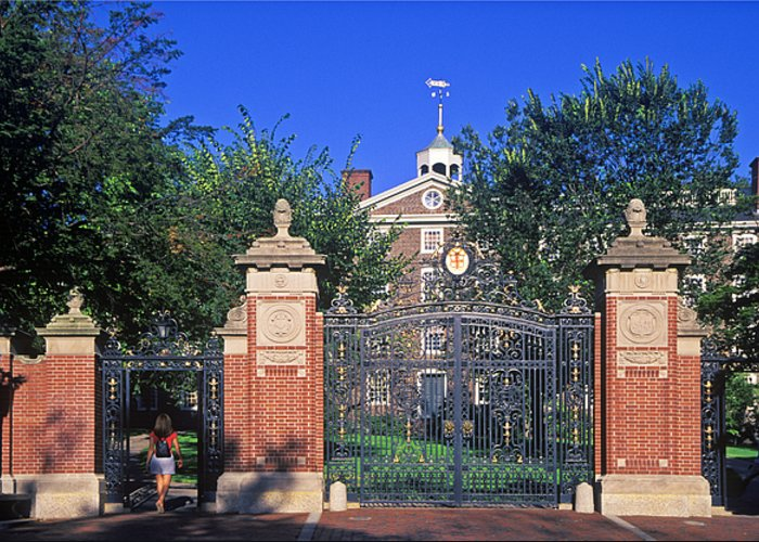Ivy League Greeting Card featuring the photograph Brown University by John Greim