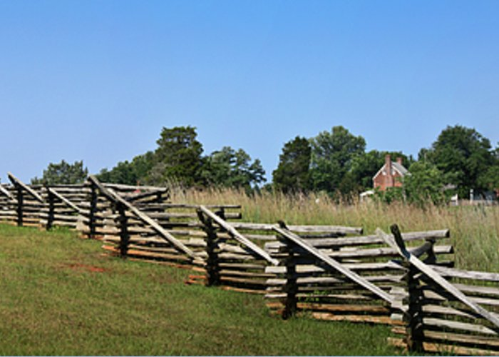 Appomattox Greeting Card featuring the photograph View Of Clover Hill Tavern Appomattox Court House Virginia by Teresa Mucha